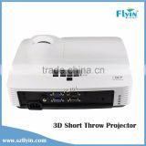 FLYIN Perfect School Classroom Education Projector 1080p 3D Led Short Throw Projector Mini data show Holographic Projector