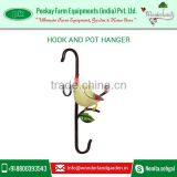 Wholesale Selling of Decorative Flower Metal Pot Hanger for Bulk Buyers