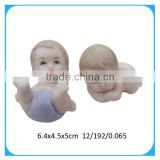 Cute ceramic mini craft baby dolls