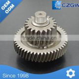 High Precision Customized Transmission Gear Duplex Gear for Various Machinery