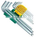 Hex key wrench set ball head(wrench,hex key wrench set flat head,hand tool)