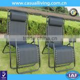 Hot Sell 2pc Zero Gravity Chairs Lounge Patio Folding Recliner Outdoor Yard Beach Black Sale