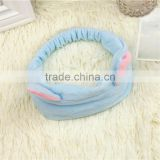 Wholesale good quality Women Girl Lady facial hair bands wash broad facial elastic hair bands