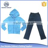 winter stock wholesale kid clothing sets girl boutique sweater hoodies