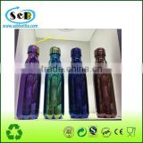 New idea Colorful Spray Paint Double Wall Stainless Steel Cola Shaped Water Bottle With Portable Lid