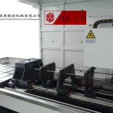 Double shaft deep drilling machine tool