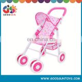 Metal doll carriage toy stroller for dolls baby stroller