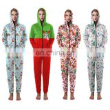 Wholesale Pyjamas Christmas Pajamas Women Cotton Jumpers Family Jumpsuit