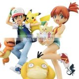 Movie toys Ash Ketchum Psyduck pokemon figures sets action figure for kids