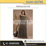 Well Known Company Exporting Printed Designer Kaftan