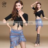 T-5179 Modal printing pattern belly dance costume set