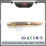 Wholesale Cheap Custom Business Souvenir Antique Gold 50 Caliber Bullet Bottle Opener