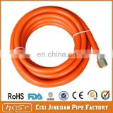 Made in China Ningbo high quality orange PVC LPG HOSE for BBQ grill Parts with CE certificate