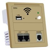 KY928 300Mbps Indoor 86 Wall Socket WiFi in Wall Access Point Wireless AP WAN LAN RJ 45 Port Repeater Router