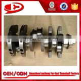 engine spare parts crankshaft for Benz OM401 crankshaft 4010302301/4010302501