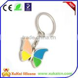 Butterfly shape Metal Keychains Wholesale
