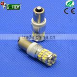 Brand new auto ba9s 3014 smd led light bulbs 3014 36leds amber white yellow