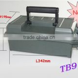 Water-resistance plastic tool box locks small plastic tool boxes carrying cases (TB-911)