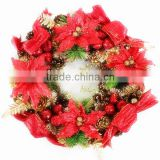 Handmade Flower Wreath and Wedding Bridal Hair Accessories Flower /Estate Pre-lit Vertical Spray with Artificial Christmas items                                                                         Quality Choice