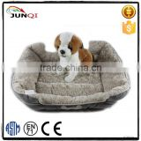 plush removable inner cushion round dog bed hot sale