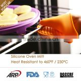 Kitchen tools heat resistant gloves silicone oven mitts                                                                                                         Supplier's Choice