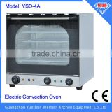 With convection function, commercial bakery deck oven