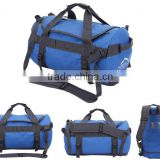 large capacity outdoor sporty travel barrel gym bags duffel bags