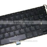 "High Grade Used French Laptop keyboard Replacement For Apple Macbook AIR 13"" A1304 2008 2009"