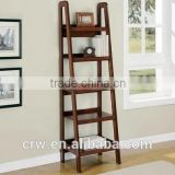 Y-1768 Reclaimed Wood Furniture French Provincial Furniture French Bookcase with Ladder