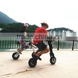New design world patent kids mini motorbike, adult mini bikes,foldable electric scooter 350w 500w