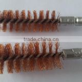 Gun cleaning bronze wire bore copper wire brush wholesale