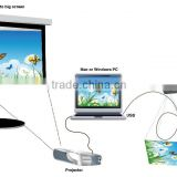 VGA USB cheap price 5.0 Mega CE FCC ISO Certification OCR function visualizer document camera