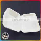 450ml / 600ml Clamshell Take Away Bagasse Container                                                                         Quality Choice