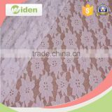 Beautiful tricot nylon and cotton lace fabric for women underclothes                                                                                                         Supplier's Choice