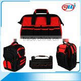 Factory Price 1680D Backpack Electrician Tool Bag OEM ODM Small MOQ                                                                         Quality Choice
