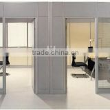 office Screens & Room Dividers Type Modern Aluminumd Tempered high glass Material partition wall(SZ-HPA801)