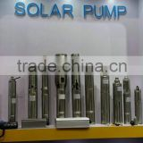 Big power AC solar water pump system, high pressure, large flow rate