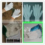 heat proof white industrial cotton gloves