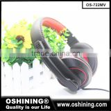 China Factory Manufacture Wired Game Headset Earphone Headphone with Mic