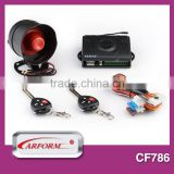 Professional design gps gsm car alarm tracker and tracking system with two stage shock sensor