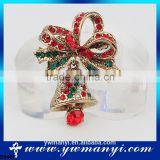 Various type of new christmas decoration gift 2016 christmas brooch jewelry B0466