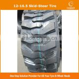 Hot Sale Quality 12-16.5 Skid Steer Tire with certificate DOT CCC ISO from China factory