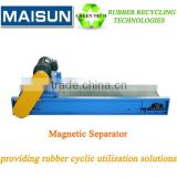 magnetic separator roller for waste tyre/used tires recycling production line