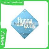 customized car fresheners absorbent paper air car freshener 2mm cotton absorbent paper air car freshener, DL985