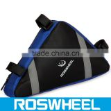Wholesale hot sale separate compartment triangle bicycle frame bag12490 super light carbon road bicycle frame bag