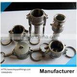 Casting Camlock quick coupling SS316 Manufacturing Cam and Groove Stainless Steel Cam Lock Fittings
