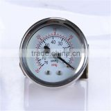 New Design Durable Light Weight Easy To Read Clear Double Needle Pressure Gauge
