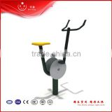 Environmental Galvanized pipe fitness outdoor exercise bike