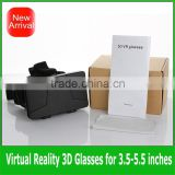 "3D Glass oculus rift Color Cross Universal Google cardboard Virtual Reality 3D Video google Glasses for 3.5''~5.7"" mobile phone"