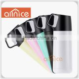 Promotional gift handle carry sport double wall water bottle/vacuum bottle/stainless steel water bottle